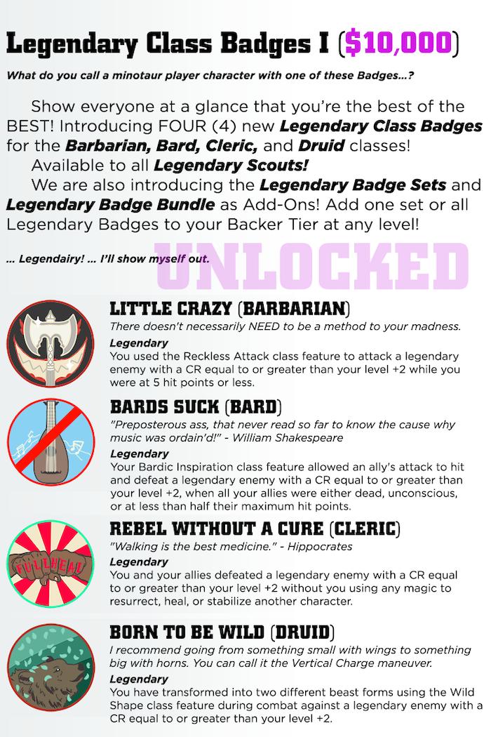 TTRPG Achievement Badges by Samantha Darcy — Kickstarter
