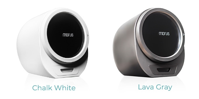 Morus Zero has two color options - Chalk White and Lava Gray. You can select the color you like in our post-campaign survey later.
