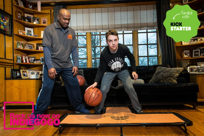 """Dream Dribble, brought to you by the """"Crossover King"""", will help you silently master your handles from the comfort of your home. Live on Indiegogo NOW!"""