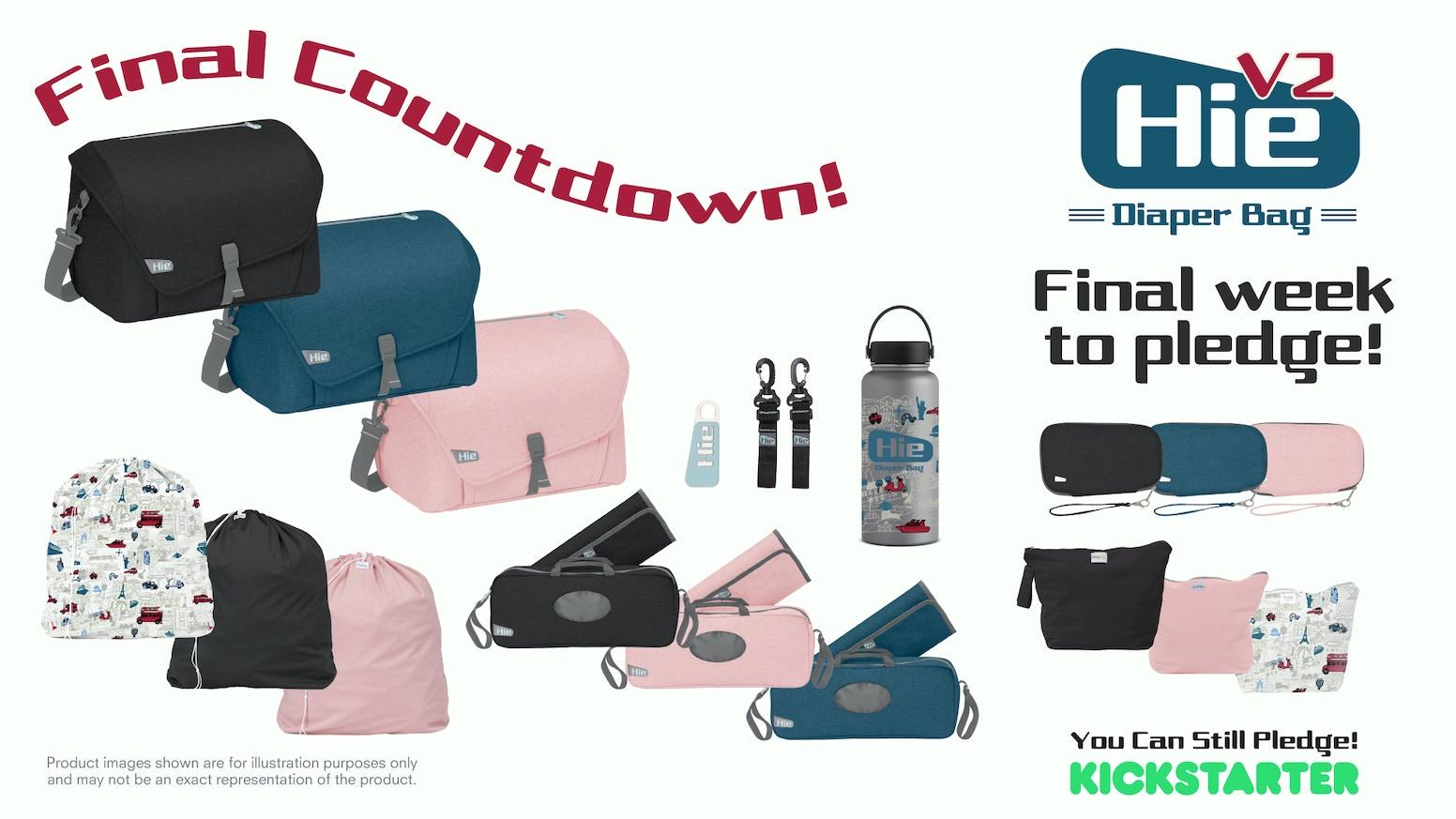 a33a5c8f288f0 Hie Bag V2 - Have Baby Will Travel by GroVia — Kickstarter