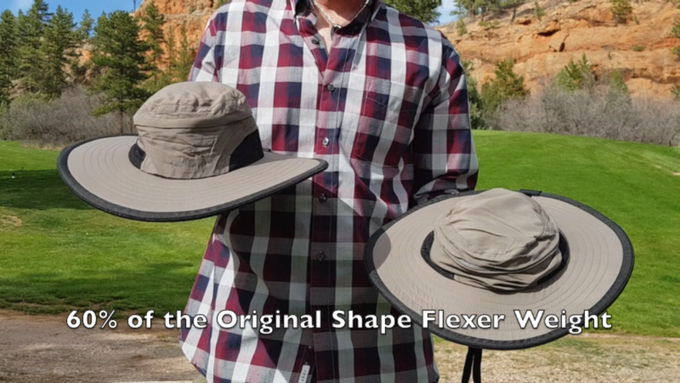 For lovers of the outdoors who find heavier sunhats uncomfortable, the Shape Flexer Lite provides the perfect alternative.