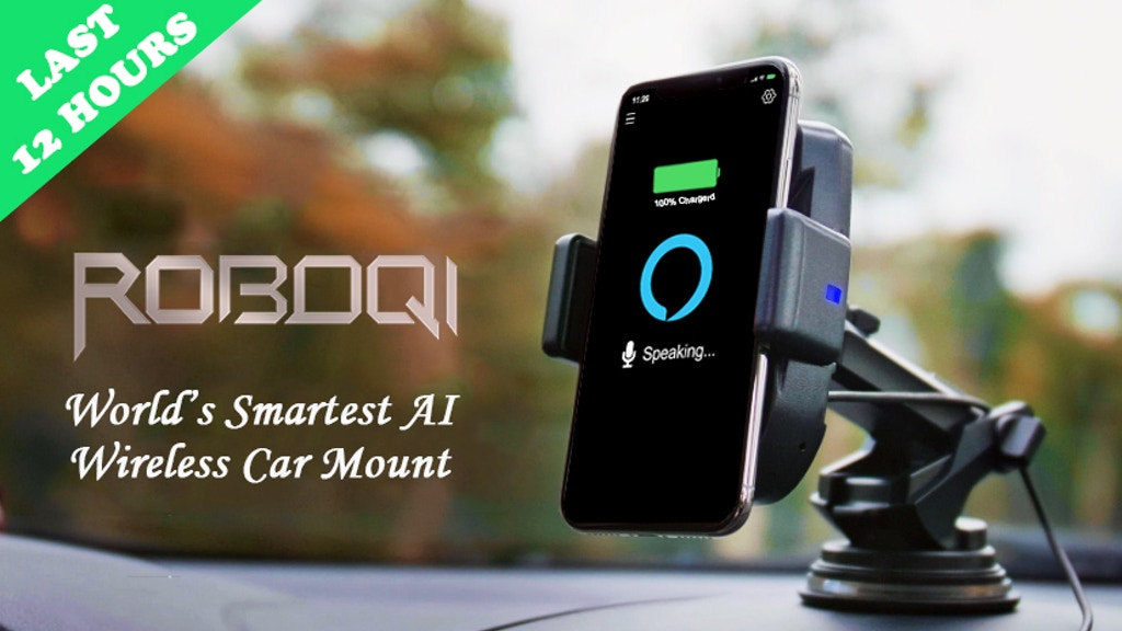 ROBOQI 2.0 Alexa | Make The Ultimate IoT Car! project video thumbnail