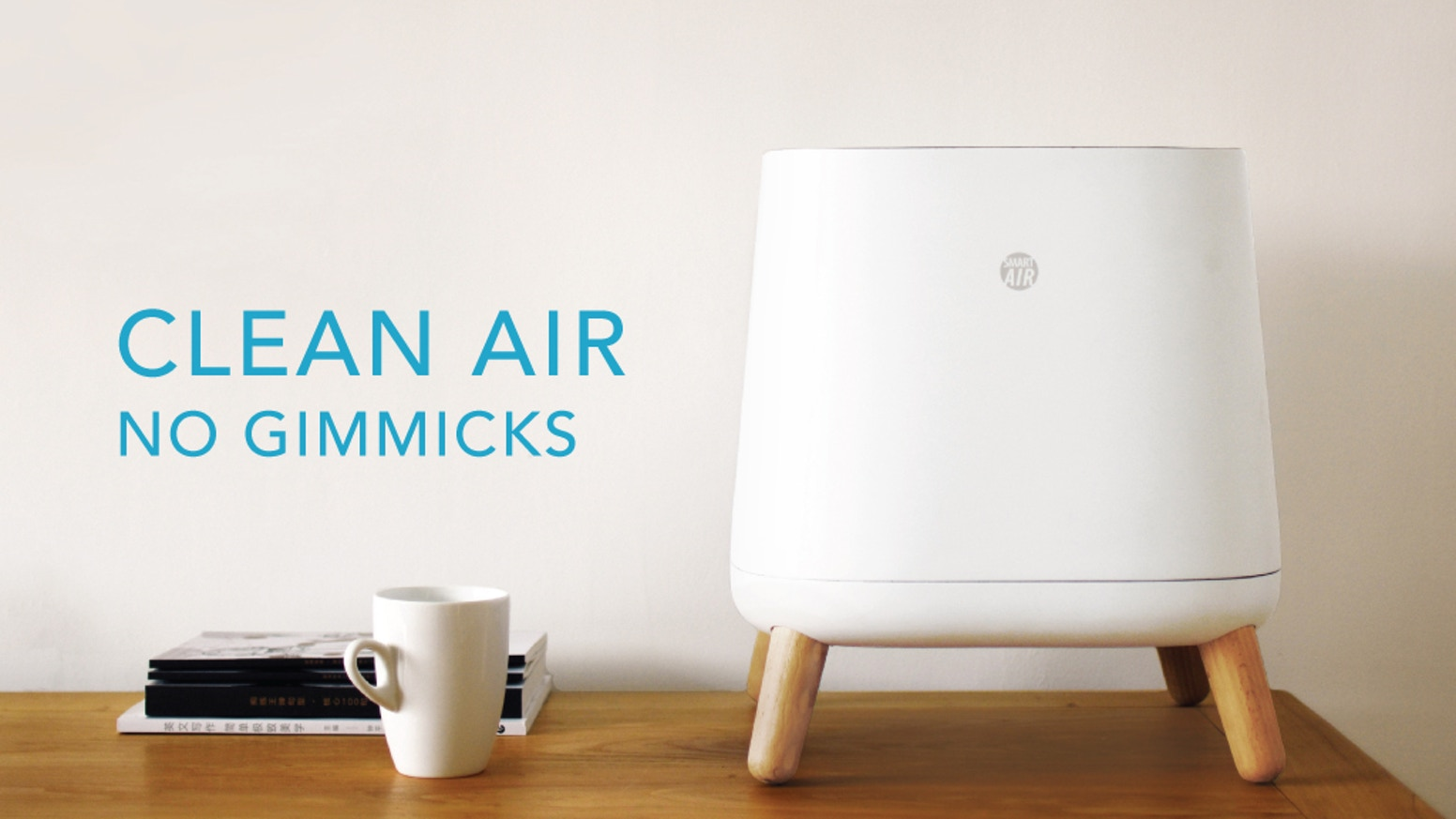 Funded in just 10 days on KICKSTARTER! The Sqair is THE air purifier for EVERYONE. Forget the marketing hype from big purifier companies, get no-nonsense clean air for around $100 today.