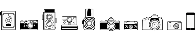 The last 100+ years of cameras that changed the face of photography as we know it. Do you recognize them?