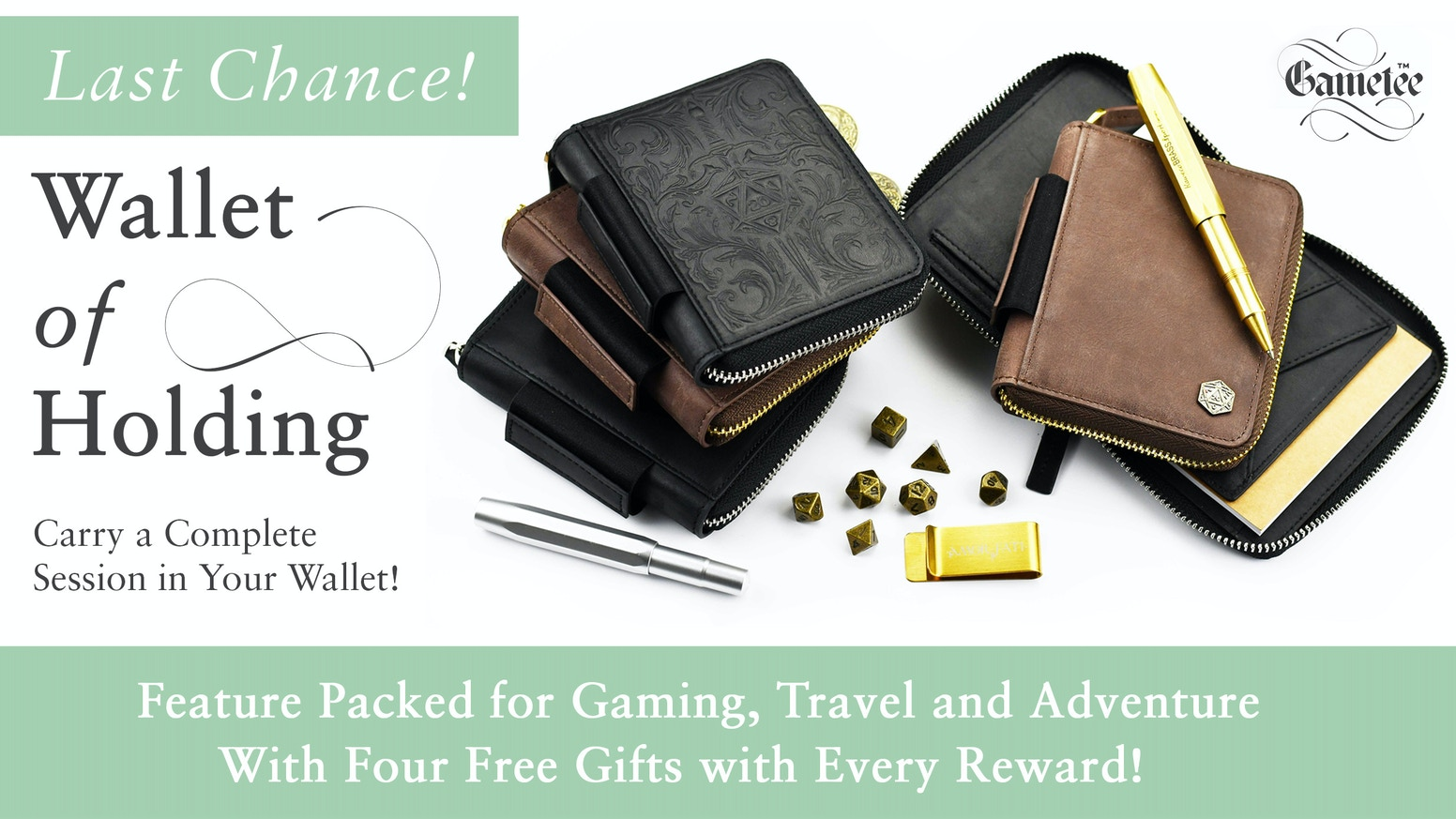 Huge Capacity! Adventure Everywhere! An Indispensable Wallet, Practical, Durable, Luxurious & Masterfully Crafted in Premium Leather