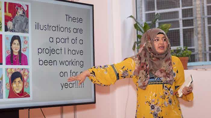Pakistan for Women creator Maliha Abidi