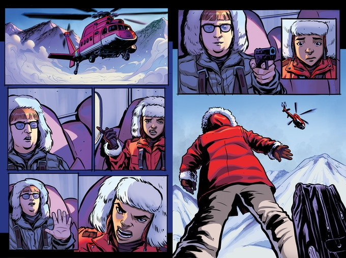 Unlettered pages, issue one
