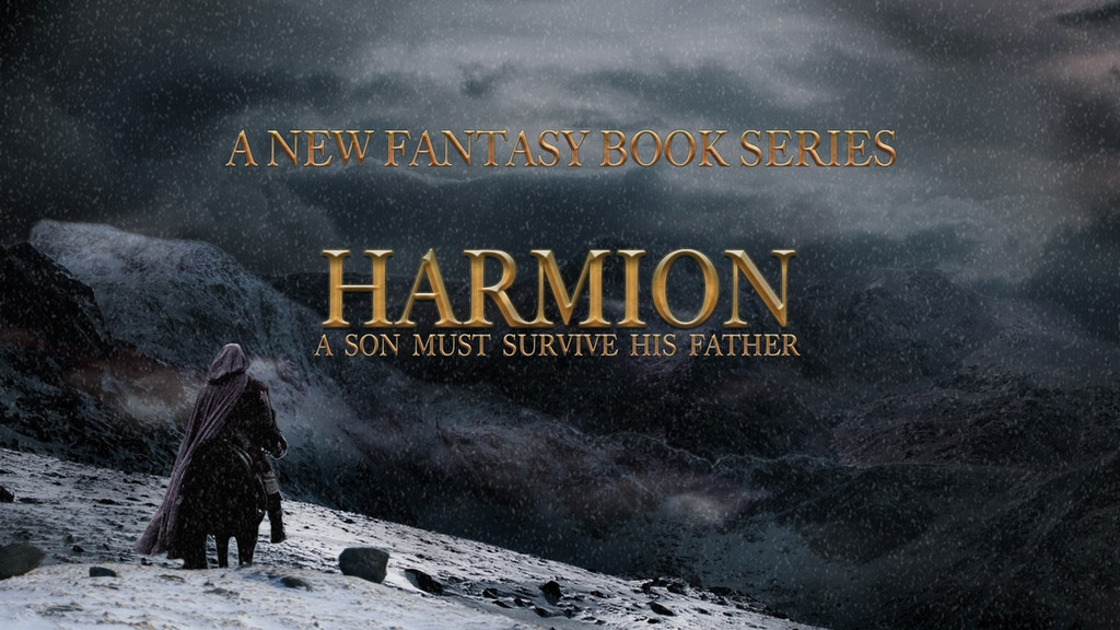 Harmion: A new fantasy book series