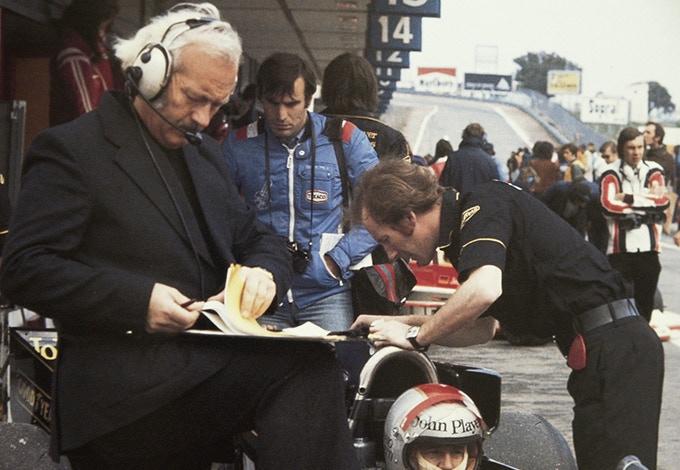 Giorgio and Colin Chapman