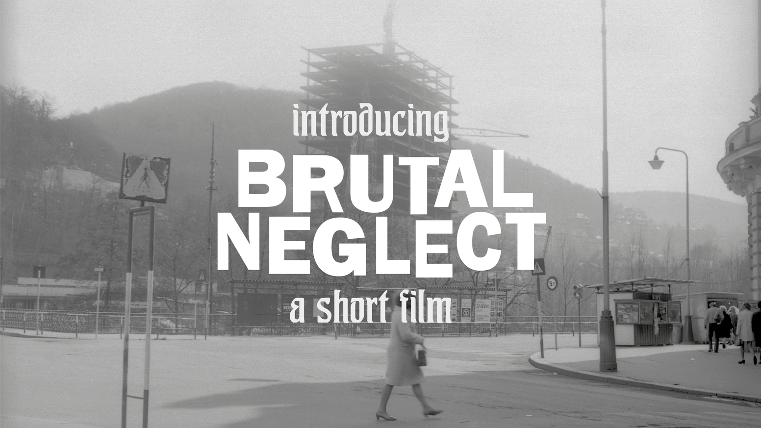 A short film that aims to acknowledge the significance of a Brutalist building in the Czech Republic, before it faces a looming reconstruction.