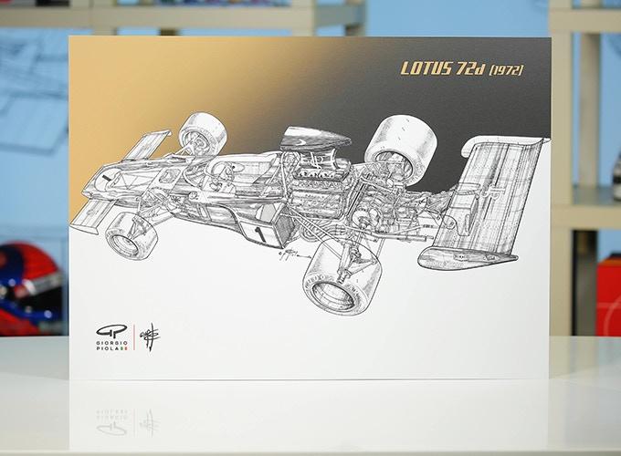 Lotus 72d on Aluminum