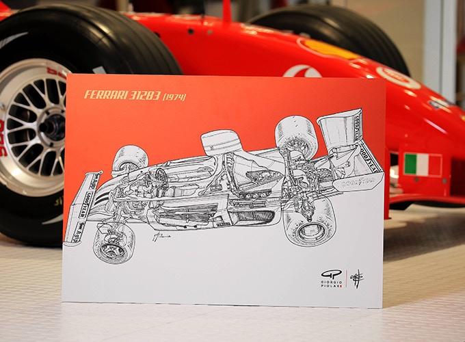 Ferrari 312B3 on Aluminum