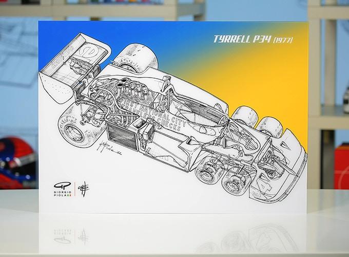 Tyrrell P34 on Acrylic