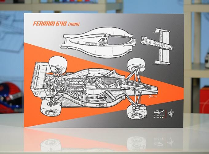 Ferrari 640 on Aluminum