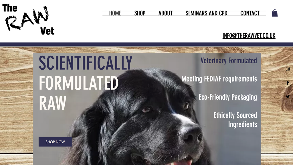 The RAW Vet - Scientifically Formulated RAW Dog Food project video thumbnail