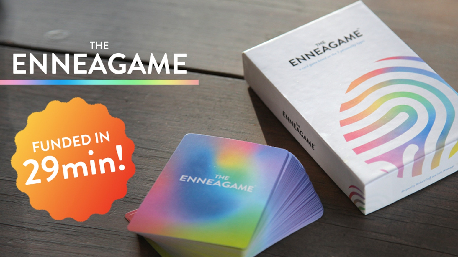 Introducing the world's first game based on the 9 fundamental personality types of the Enneagram. Created by two 7s (duh)