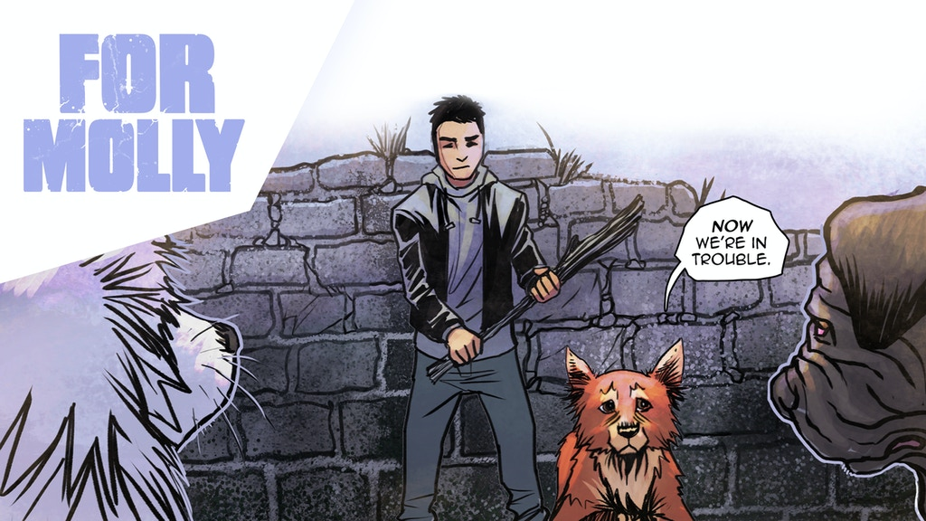 FOR MOLLY Chapter 2 - A Modern Fantasy Comic by Gabe Cheng project video thumbnail