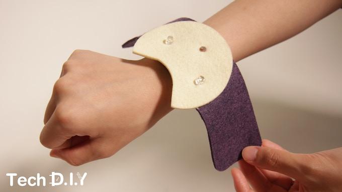 Nightlight Cat Bracelet - Light Sensor