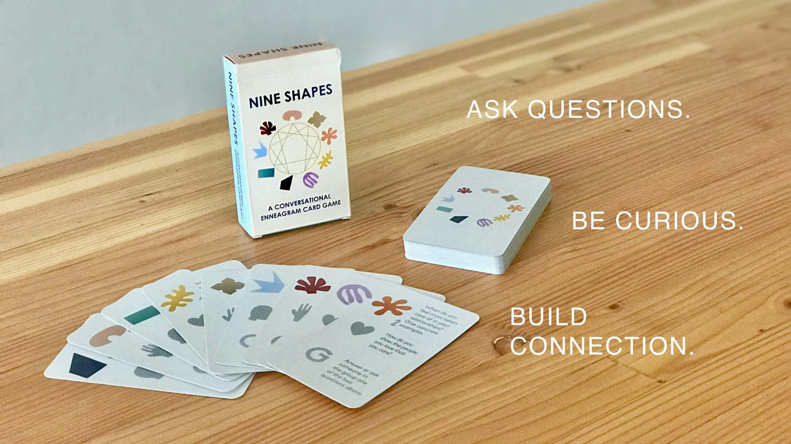 Conversational Cards Around the Enneagram