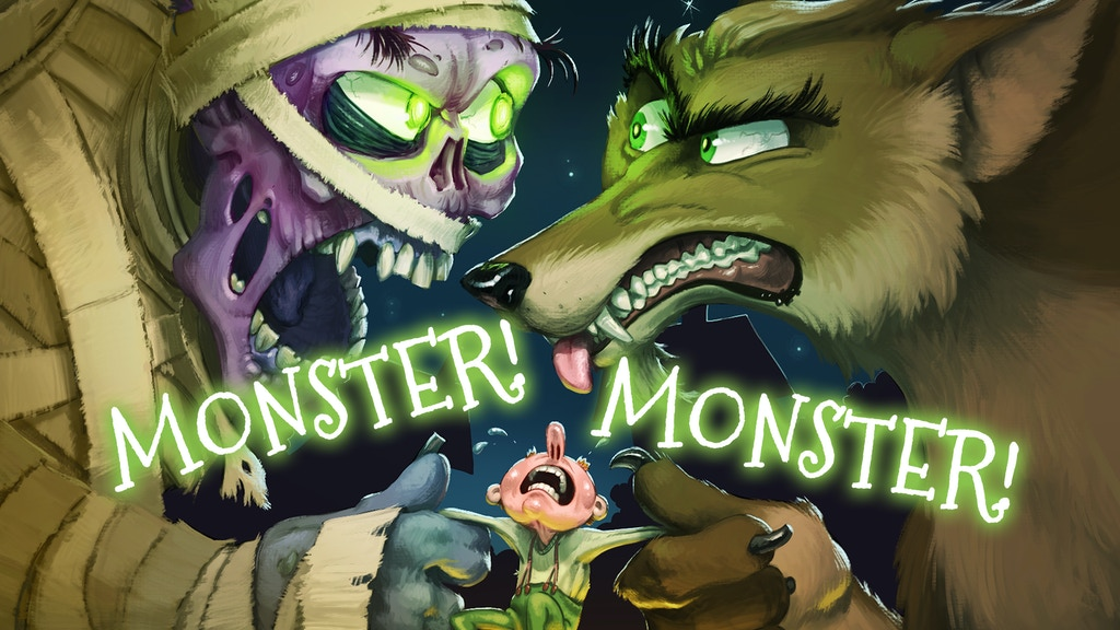 Monster! Monster! project video thumbnail