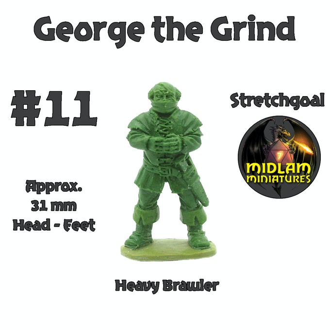 Maintainer of discipline within the gang - George the Grind!