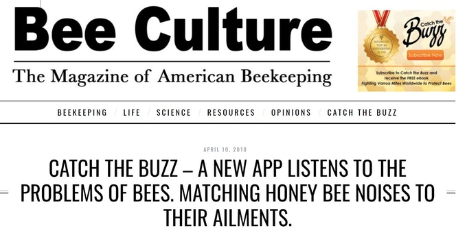 The Bee Health Guru team is featured in an article in Bee Culture magazine