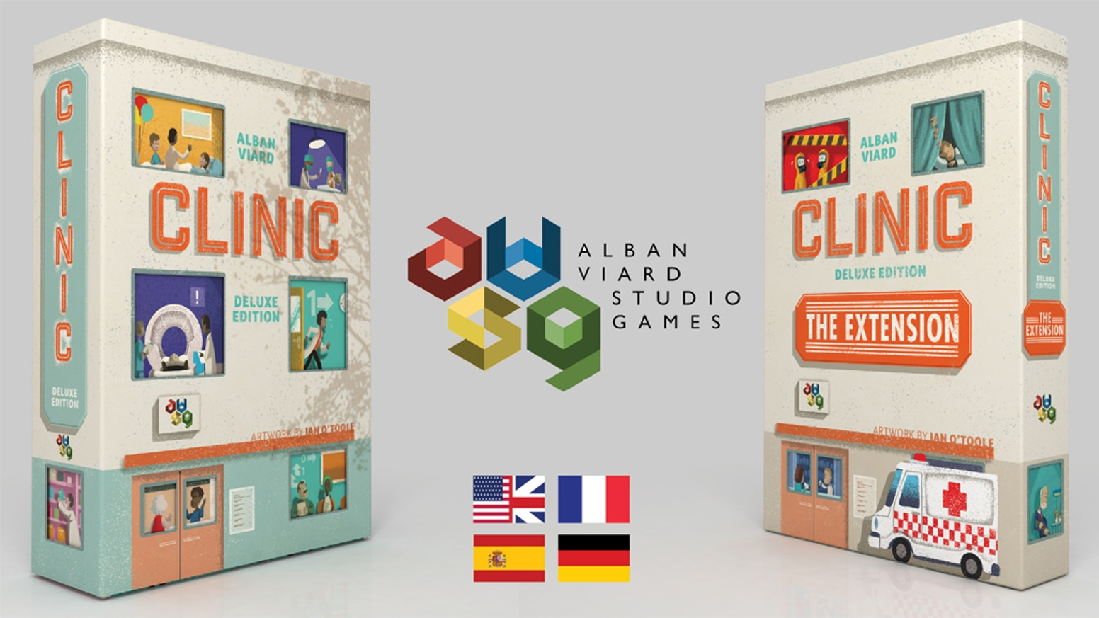 The definitive deluxe edition of CliniC, with re-imagined art, modern graphic design, custom components and a collection of expansions!