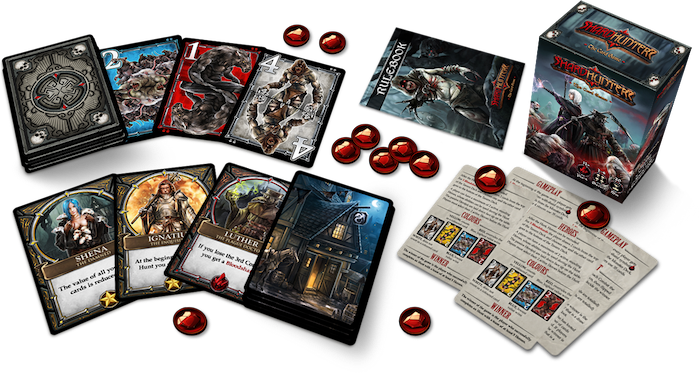 Simple & dynamic gameplay, exclusive artwork. Love dark fantasy card games but don't have much time? This 20-minute game is for you!