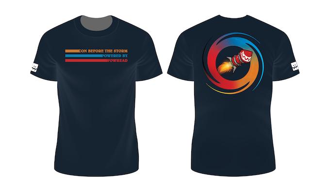 2nd shirt design on a Black Shirt