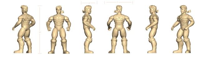 Hiro Figure 3D Render