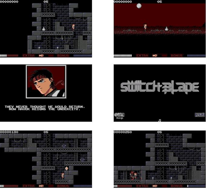 Switchblade Gameplay Screenshots