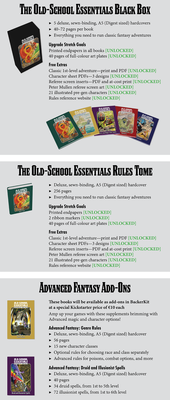 Old-School Essentials by Necrotic Gnome — Kickstarter
