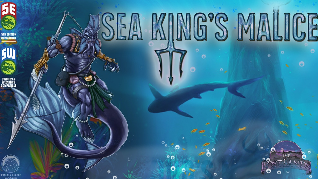 Sea King's Malice: a 5E Adventure in the Deadly Depths project video thumbnail