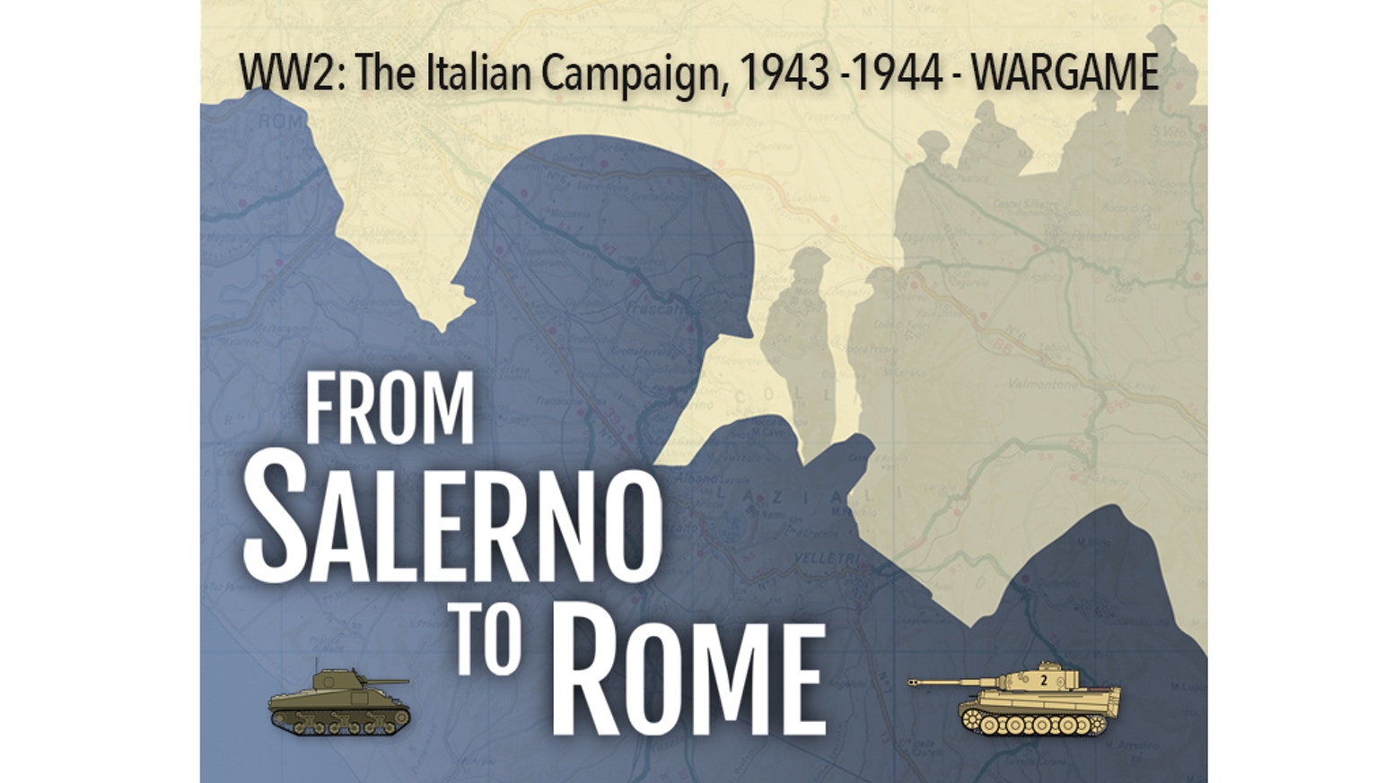 A big wargame whit an extremely flexible game structure about Italian Campaign in WW2 - An exciting game, tense, always different!