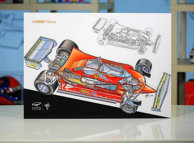 Ferrari T4 in Acrylic