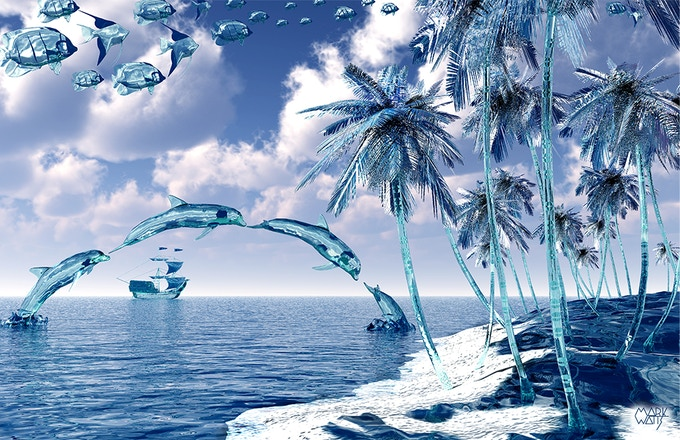 Aquatic Reflections