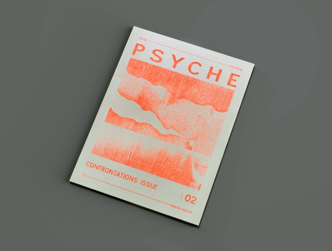 Psyche 2 : The Confrontations issue ORANGE COVER *digital mock up*