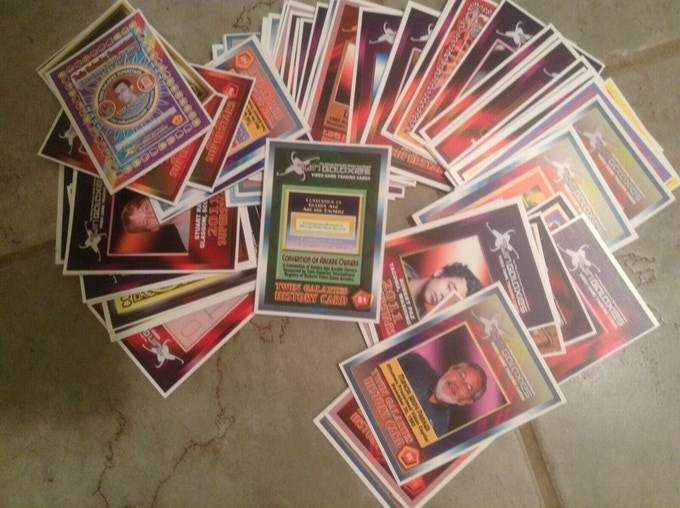 An old picture of some of the original cards