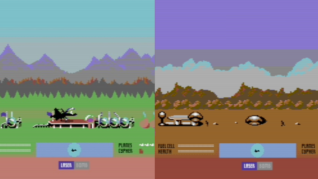 Parallaxian on the C64 by Jonathan Woods » Quick Update: Working on