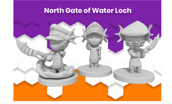 Anime Mini North Gate of Water Loch