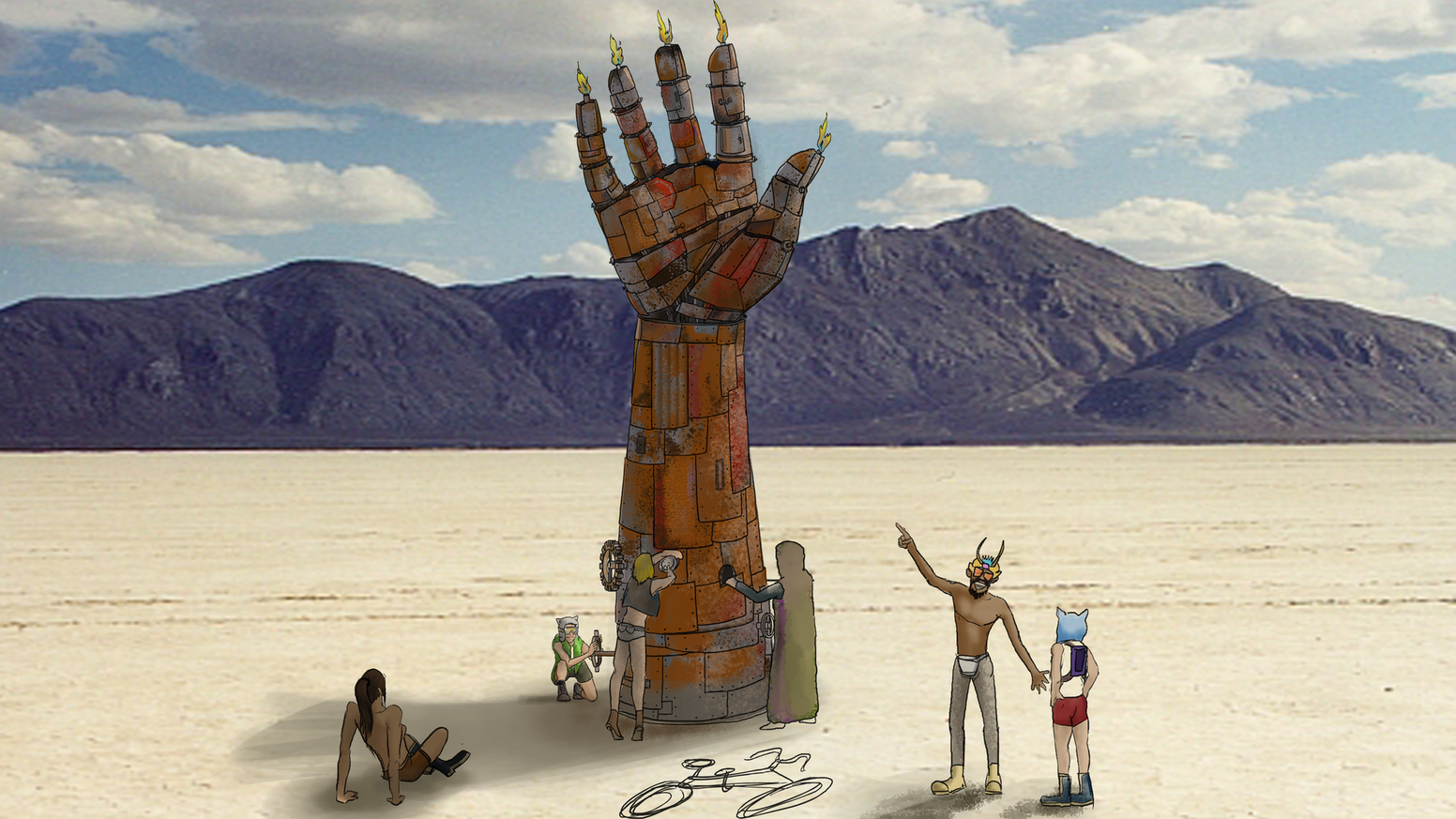 I.L.Y. - Burning Man 2019 by Lindsay Schaefer — Kickstarter