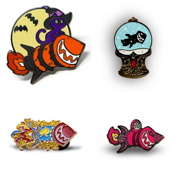 Wowhead Holiday Pins