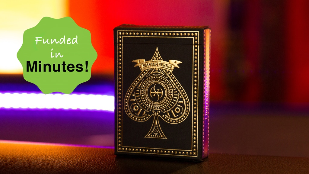 MASTER SERIES DARK LORDZ ROYALE -Playing Cards by De'vo project video thumbnail