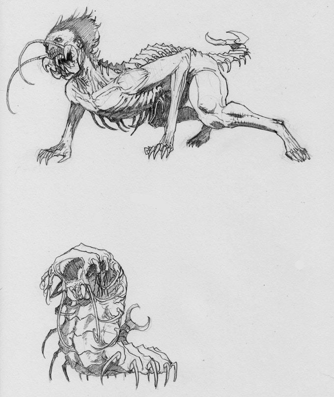 Gog Concept Sketch - SickJoe