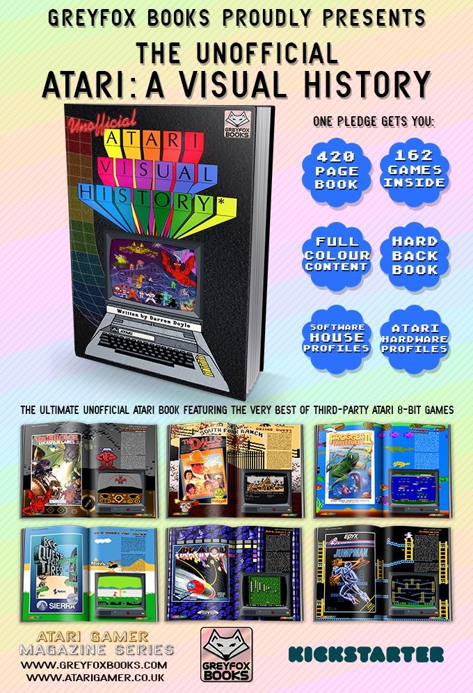 Atari: A Visual History by Darren Doyle — Kickstarter