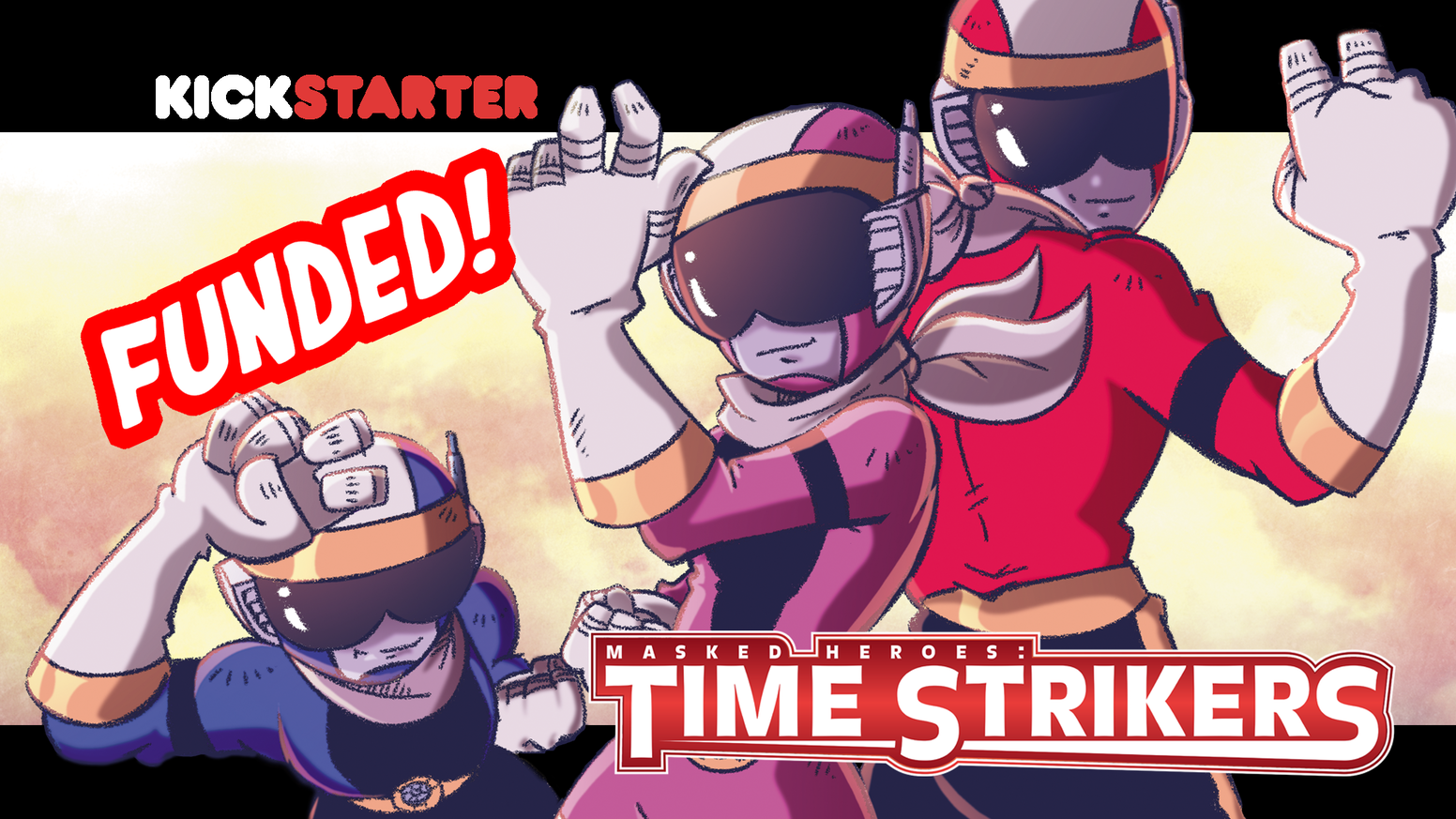 Time Strikers Accelerate! Defending time and space from villainy!