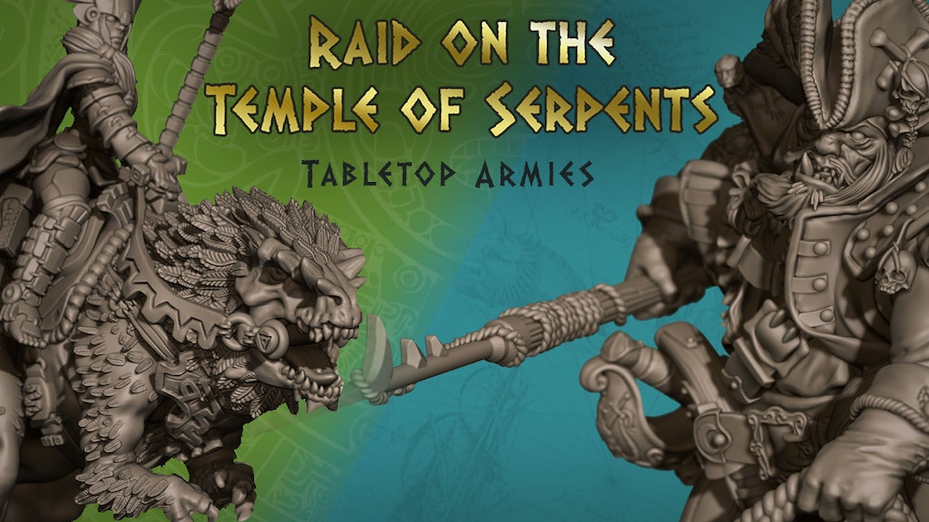Raid on the Temple of Serpents project video thumbnail