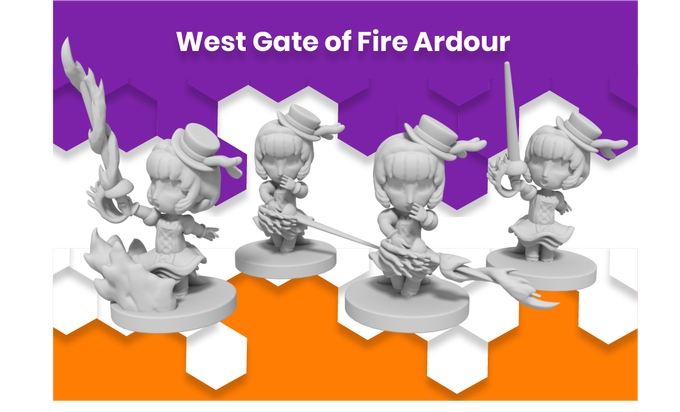 Anime Mini West Gate of Fire Ardour