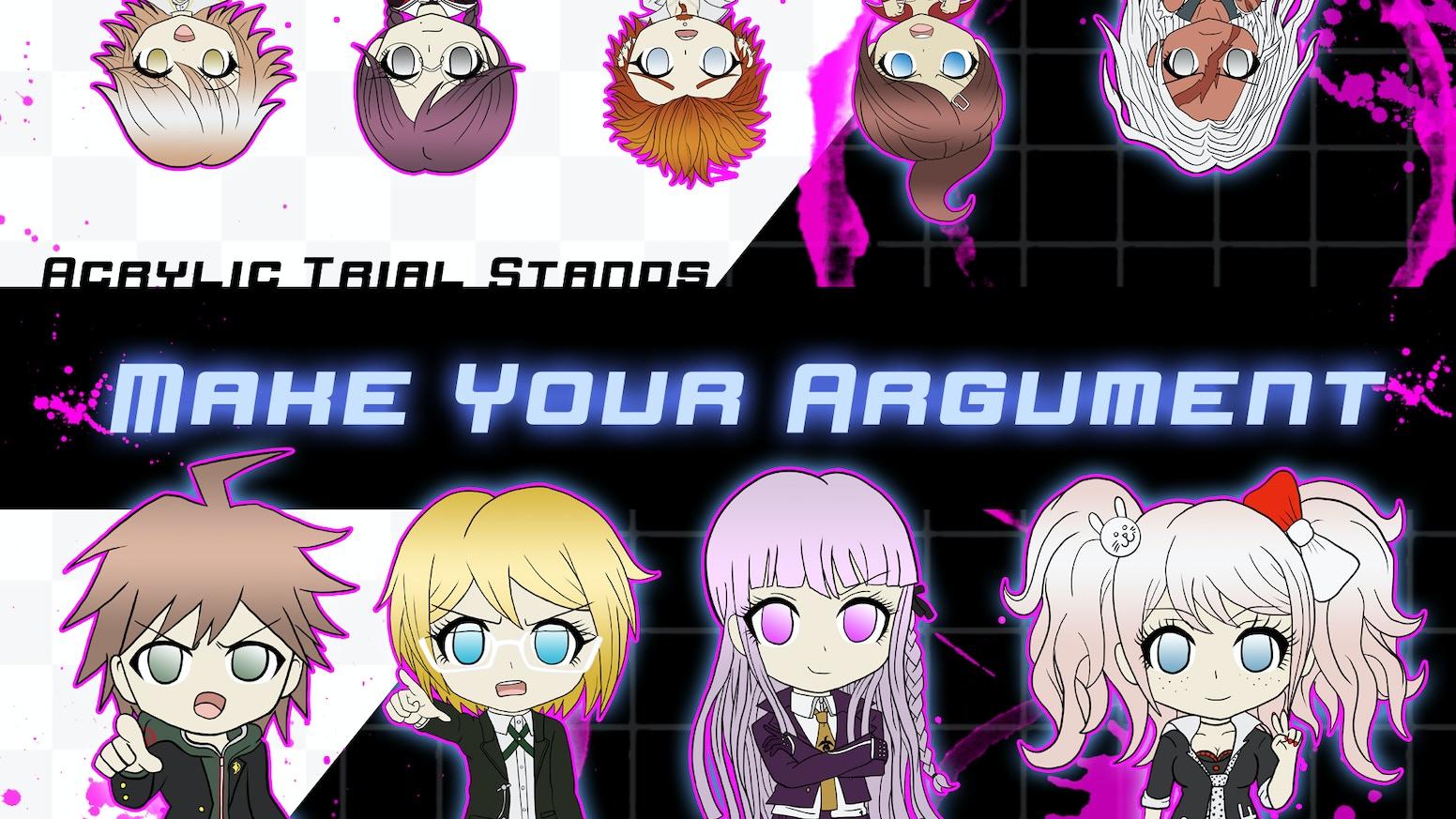 Make Your Argument: Trial Standees by Lauren Challenor