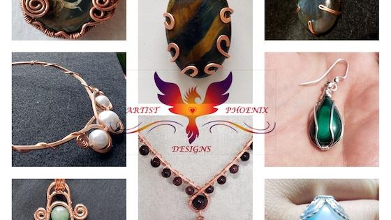 e290d993fbfc Artist Phoenix Designs  handcrafted jewelry